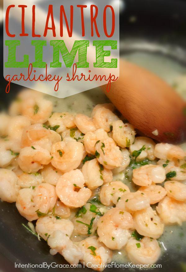 cilantro lime garlicky shrimp 600x876