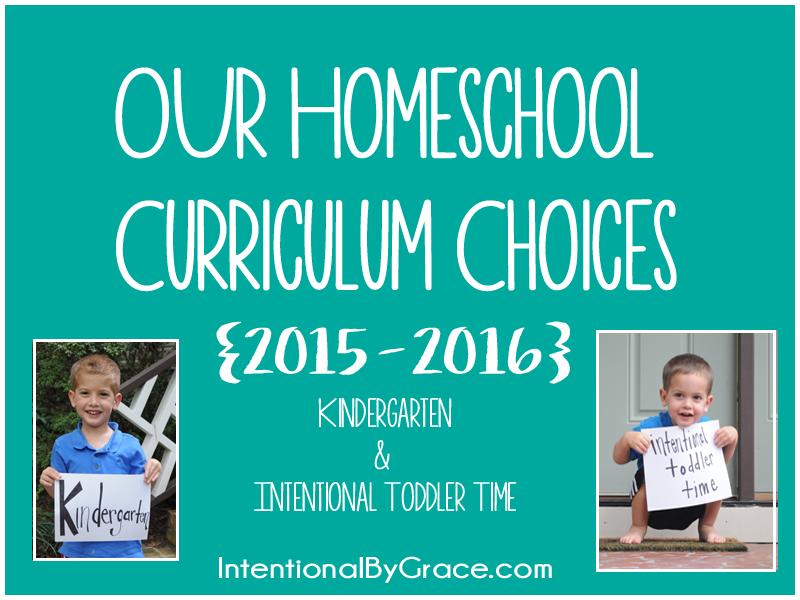 Our Homeschool Curriculum Choices {2015-2016}