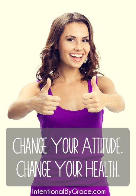Emotions and attitude are powerful things when it comes to influencing your health. Change your attitude. Change your health! Plus get a real food meal plan for the week that includes breakfast, lunch, and dinner ideas!