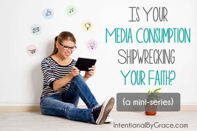 is your media consumption shipwrecking your faith? Join us for a mini-series on glorifying God with all of our lives including what we allow into our minds through media.
