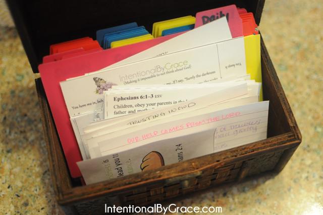 scripture memory box 1