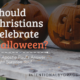 Can Christians Celebrate Halloween? The Apostle Paul has a surprising answer. This post includes beautiful printable trick or treat tags with verses. | IntentionalByGrace.com