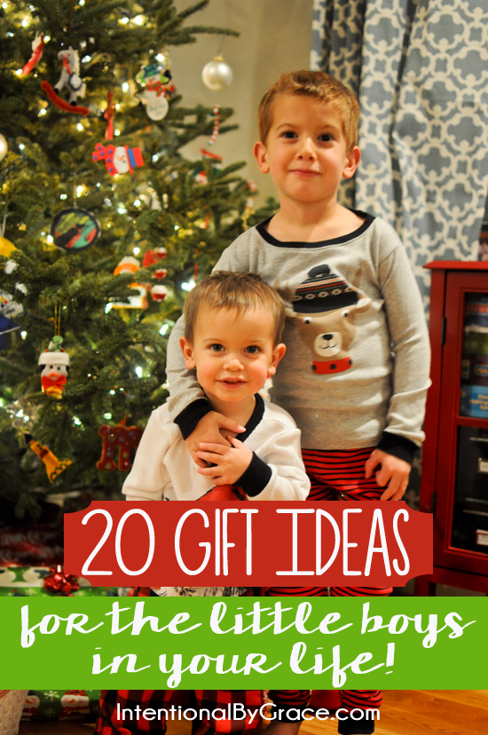 20 Gift Ideas for the Little Boys in Your Life.