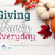Giving thanks every day in the mix of temper-tantrums, dirty clothing, potty training, sleepless nights and prepping meals has completely transformed me. | IntentionalByGrace.com