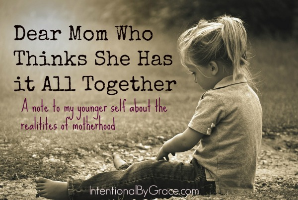 Motherhood is the hardest yet most rewarding role I've ever had. It's not like I thought it would be before I had kids.