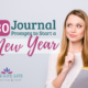 Do you want to practice the habit of daily journal writing? The new year is a great time to reflect and evaluate the previous year. Includes FREE printable. | IntentionalByGrace.com