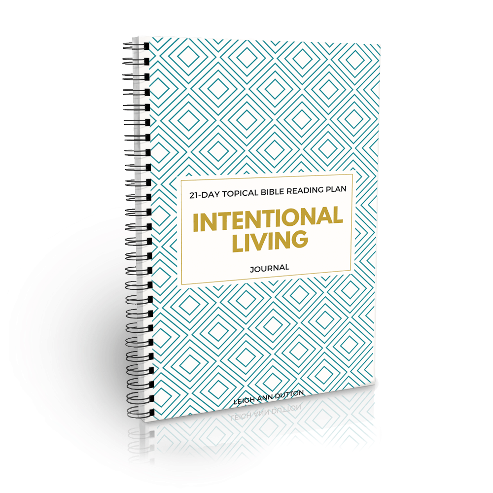 Free Topical Bible Reading Plan on Intentional Living