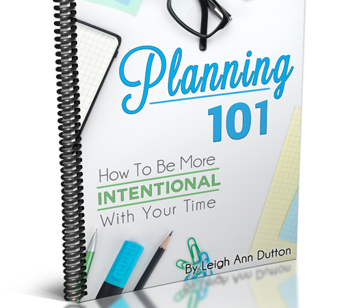 Planning 101: How to Be More Intentional With Your Time
