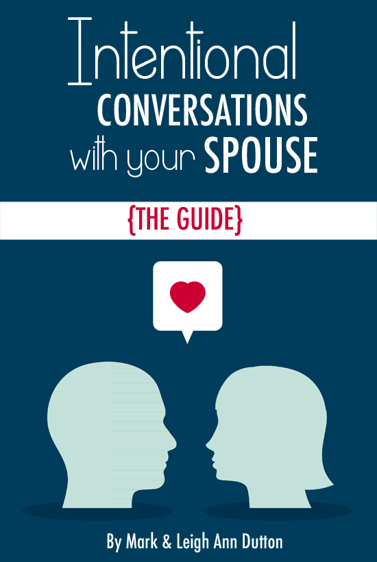 Intentional Conversations with Your Spouse Guide- Free eBook!