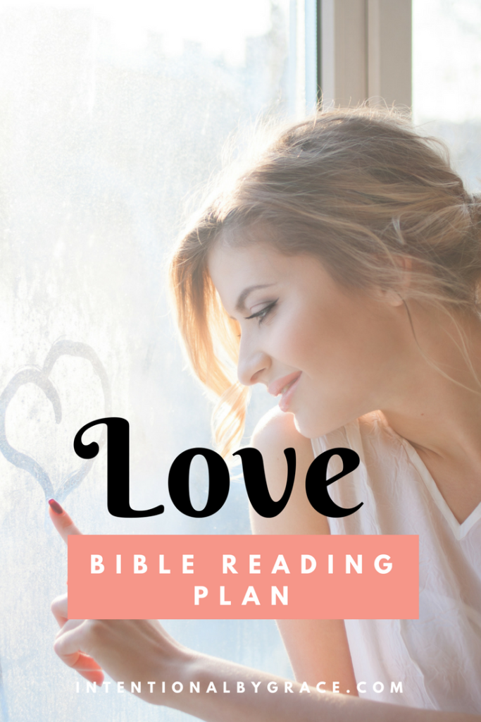 FREE Bible Reading Plan on Love