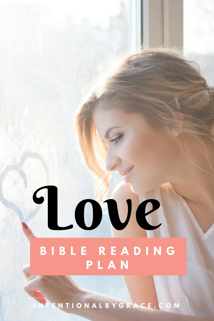 FREE Bible Reading Plan on Love