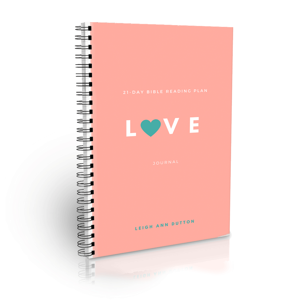 Love Topical Bible Reading Plan Journal