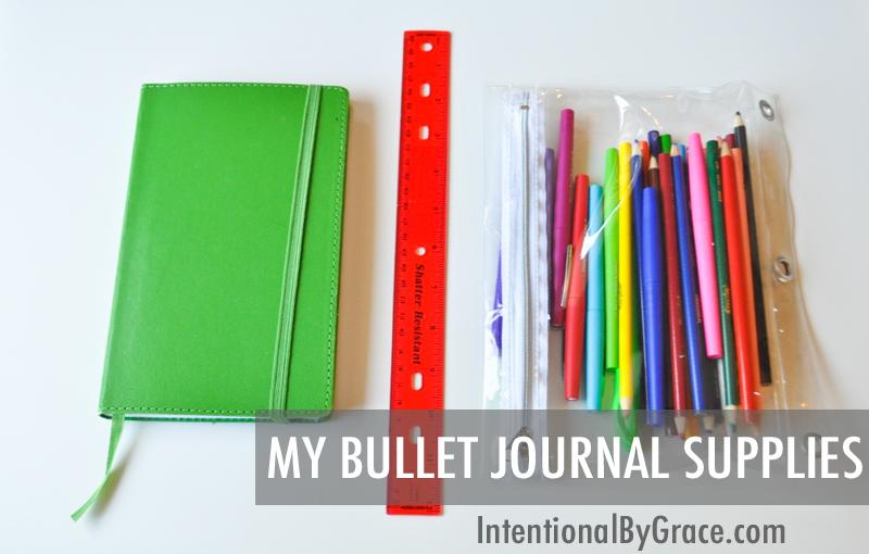 My Bullet Journal Supplies!