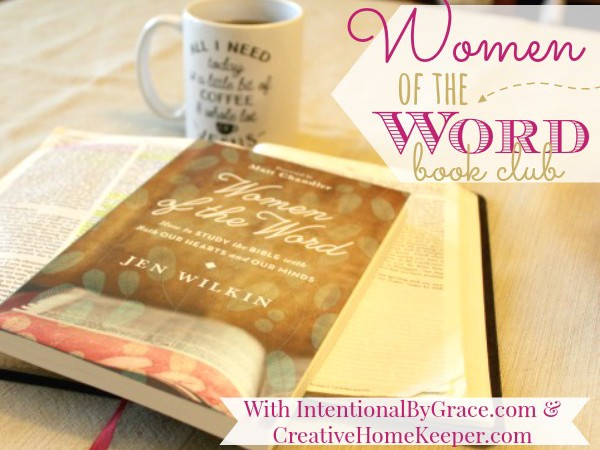 Announcing Women of the Word Book Club!