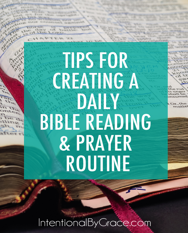 TIPS FOR CREATING A DAILY BIBLE READING & PRAYER ROUTINE vertical_edited-1