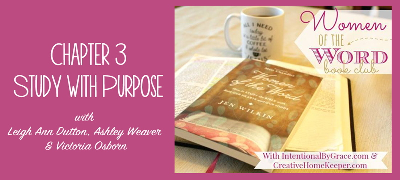 Women of the Word Book Club Study with Purpose