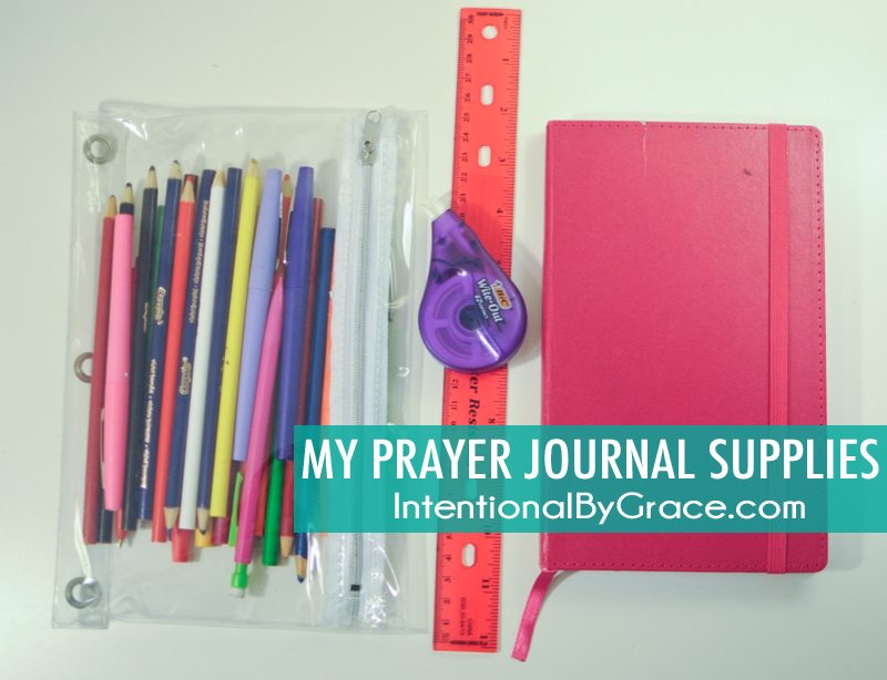 my prayer journal supplies