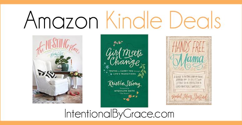 Treasures of Grace: Kindle Deals that Won't Last Long!