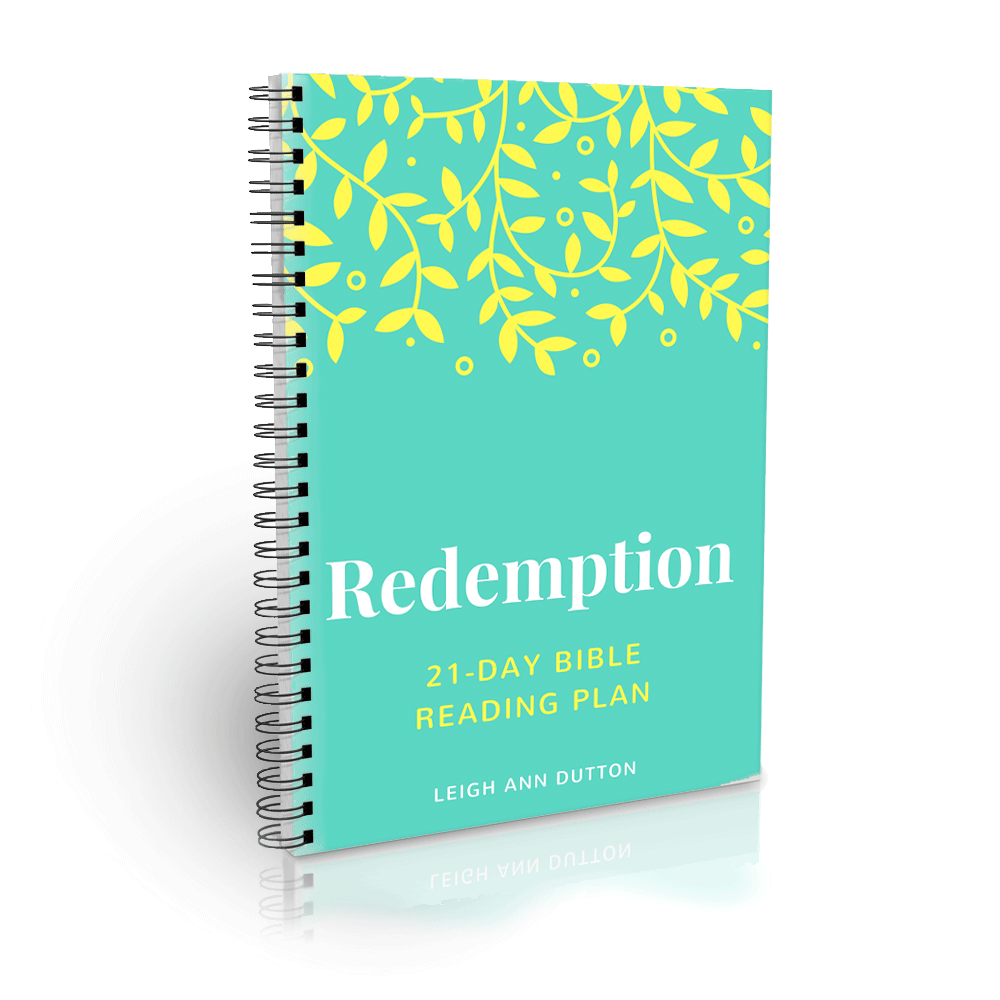 Redemption Topical Bible Reading Plan Journal