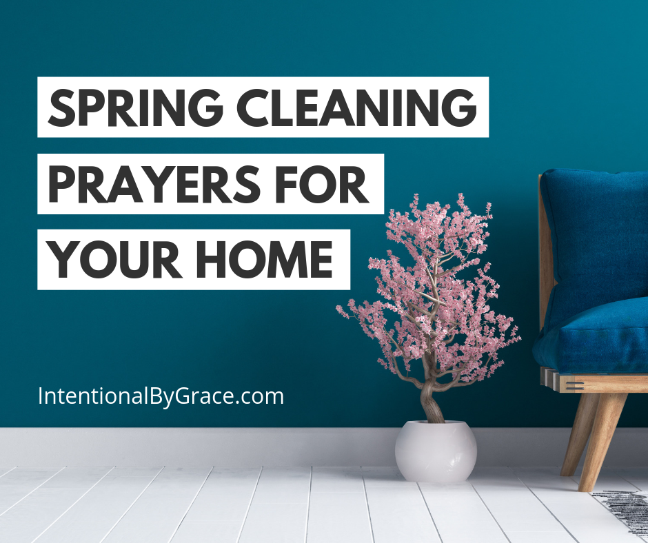 Spring Cleaning Prayer Prompts for Your Home