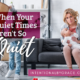 What do you do when quiet times aren't so quiet? Here are 10 creative quiet time ideas for those in the trenches of motherhood. | IntentionalByGrace.com