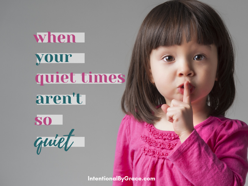 What do you do when quiet times aren't so quiet? Here are 10 creative quiet time ideas for those in the trenches of motherhood.