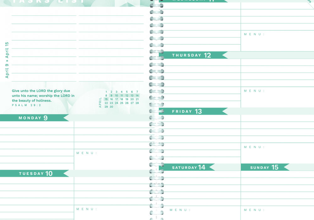 2018 Homemakers Friend Daily Planner is Ready for You!
