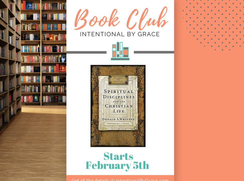 New Book Club Starting at Intentional By Grace!