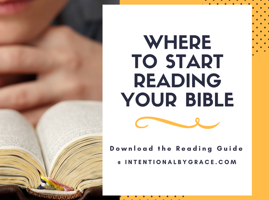 Where to Start Reading Your Bible