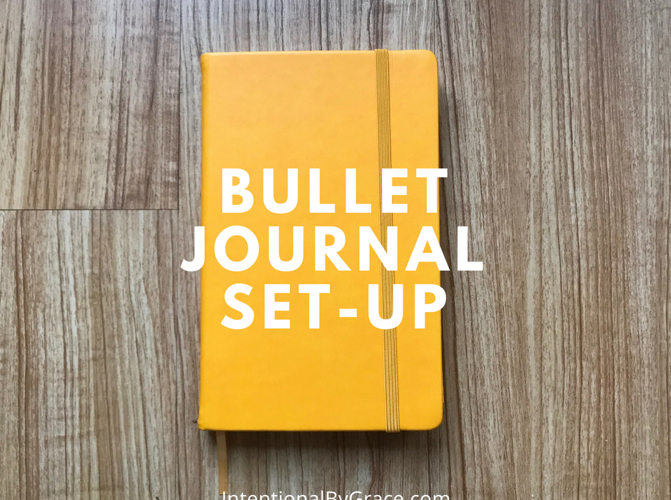 How I Set Up My Bullet Journal for 2018