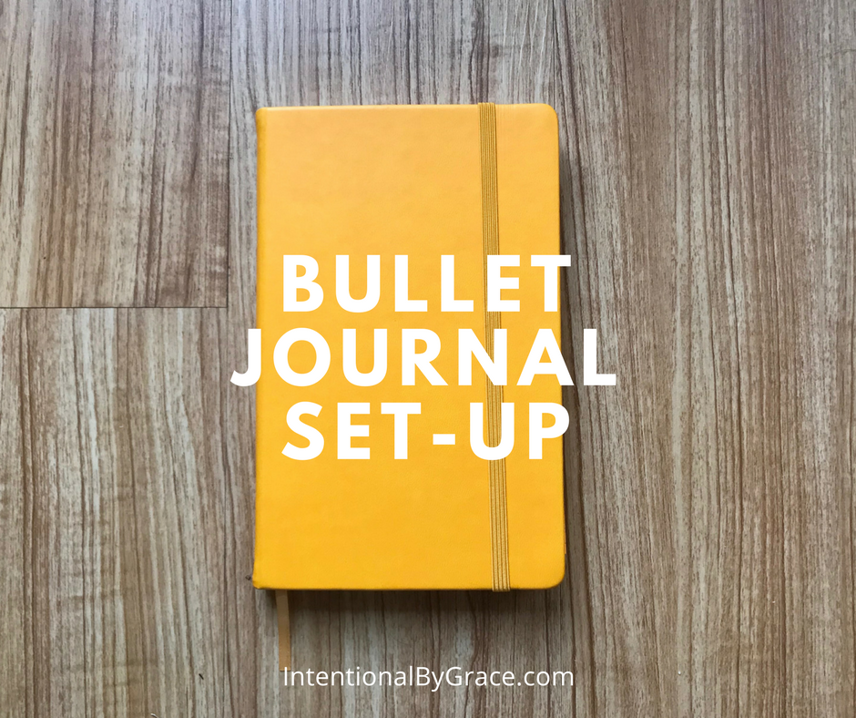 My 2018 Bullet Journal Set-Up. #bulletjournal #bulletjournalideas #bujo