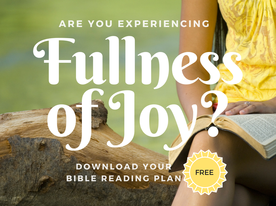 Cultivating a Heart of Joy Topical Bible Reading Plan