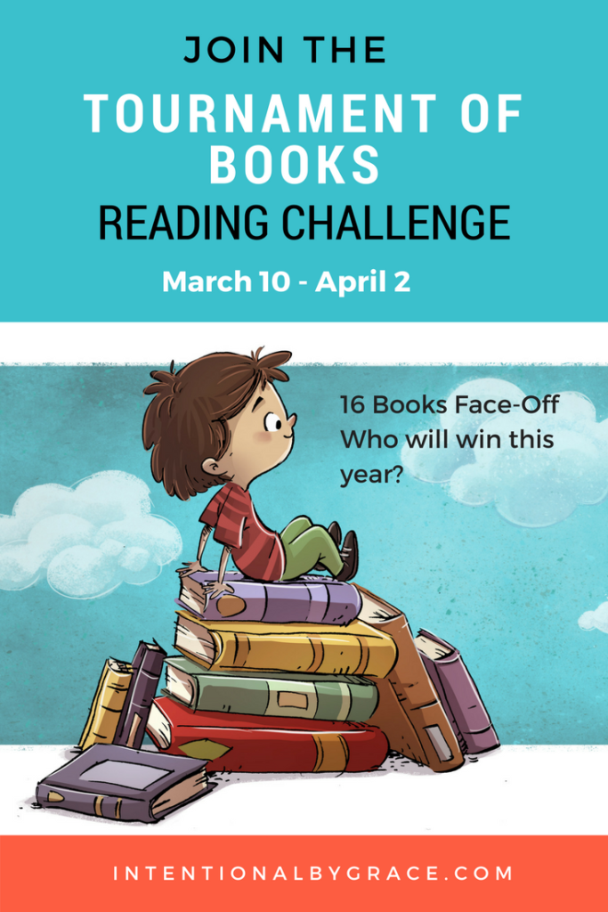 Do you love basketball's March Madness and reading? Why not join the two with a Tournament of Books Reading Challenge!