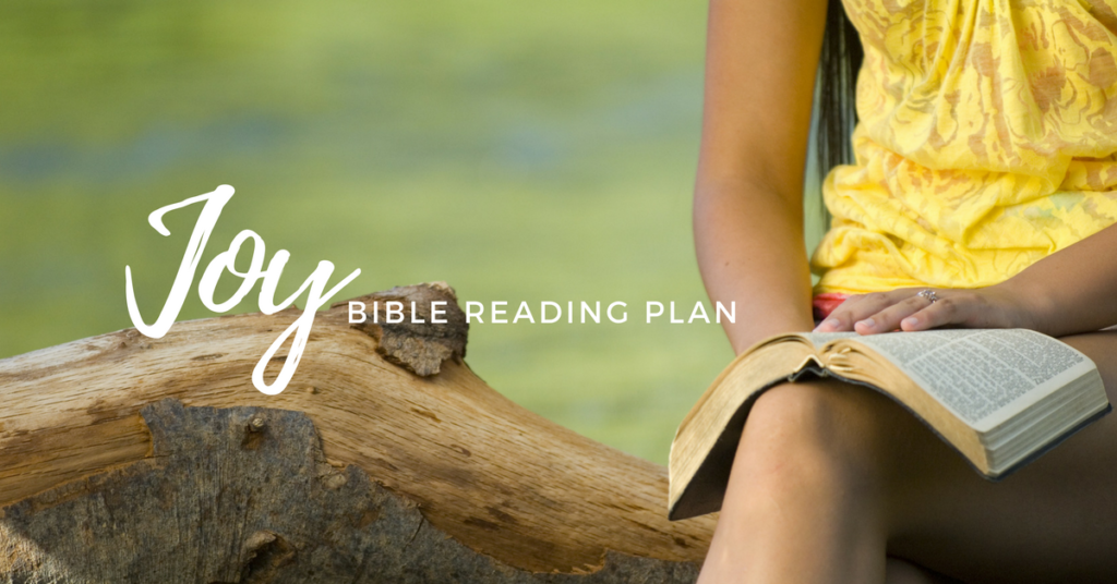 Joy Free Printable Bible Reading Plan