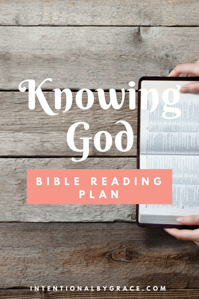 FREE Bible Reading Plan on the Importance of Knowing God