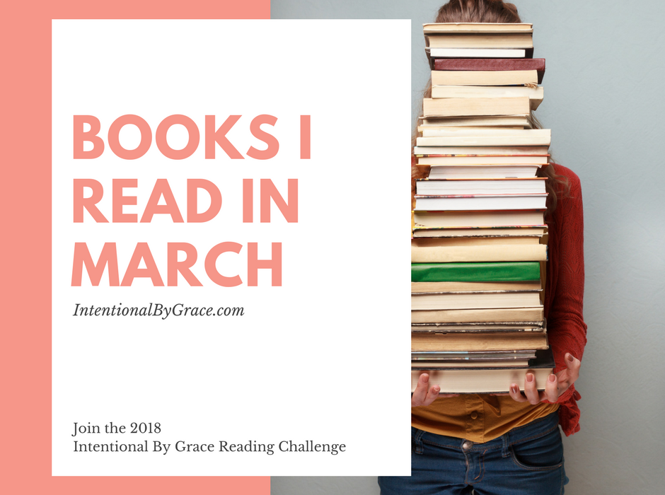 Reading Challenge Update: What I Read in March