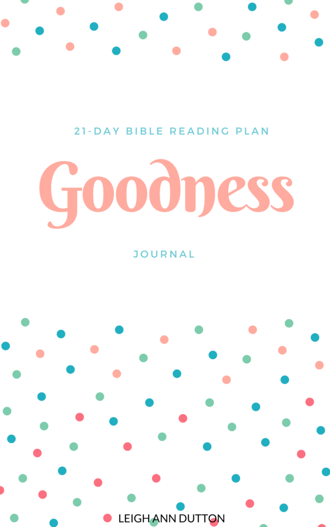 Is God good? Is God really good? Download this Topical Bible reading plan and journal on goodness and discover what the Bible has to say.