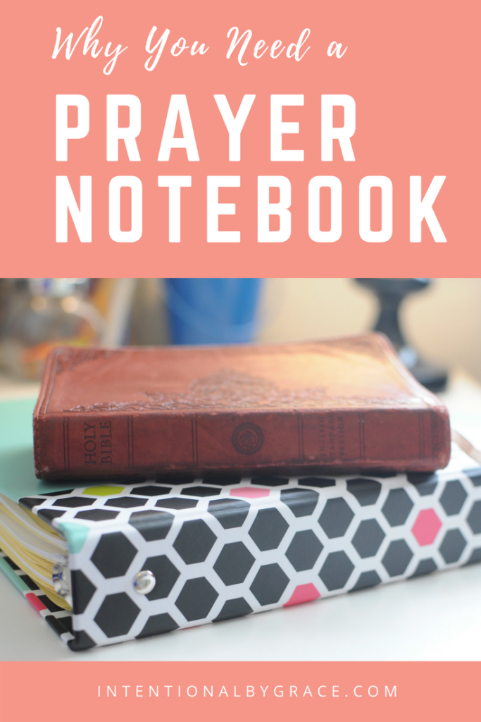 What is a prayer notebook, and why do you need one? If you're wondering why so many women are talking about prayer notebooks, then check out this post!