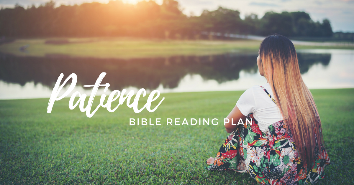 Do you need a new Bible reading plan? Try this topical Bible reading plan on patience. Be patient Bible reading plan is just 21 days long, and it will help you grow in patience as you learn to wait on the Lord.