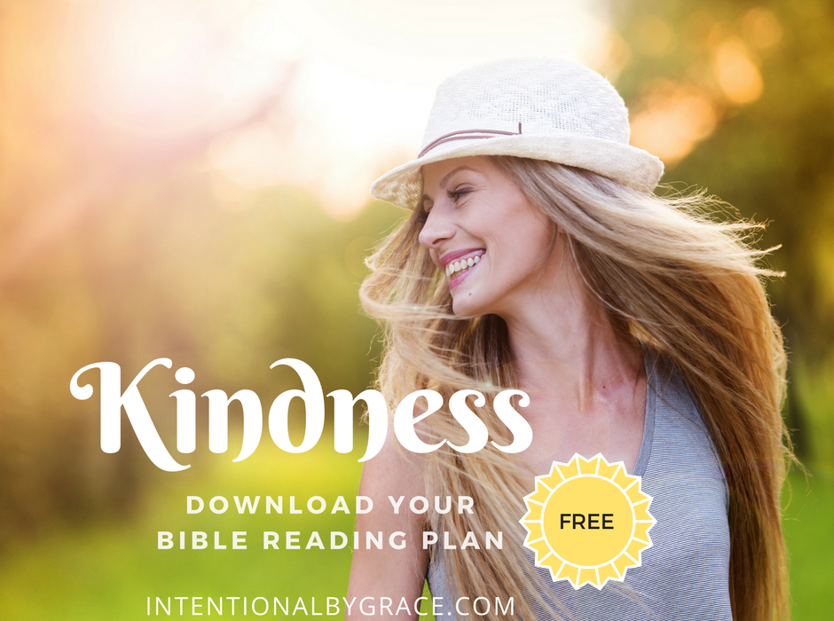 Kindness Topical Bible Reading Plan