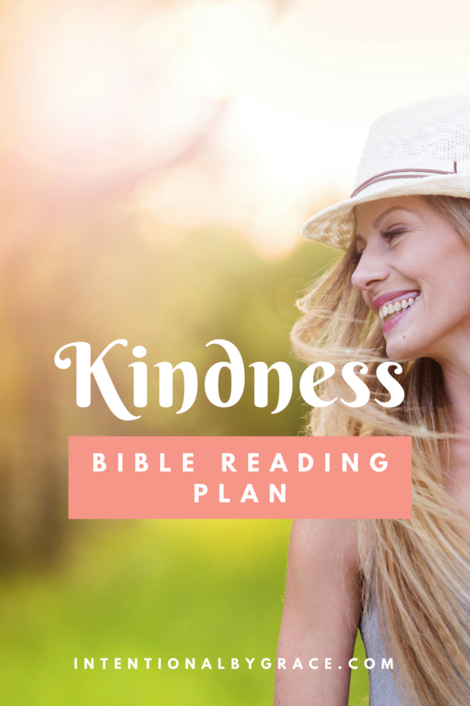 Do you want to grow in kindness? Then download this FREE Topical Bible Reading Plan on Kindness.