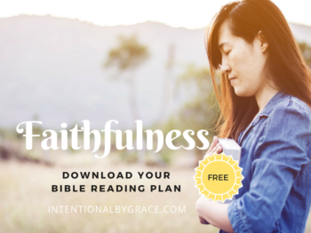 Free Topical Bible Reading Plan on Faithfulness