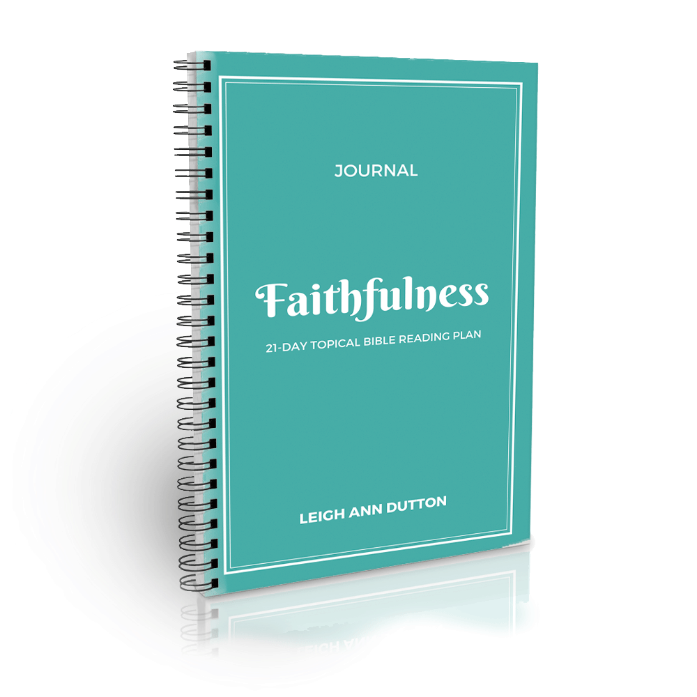 Companion Journal Download for the Faithfulness 21-Day Topical Bible Reading Plan