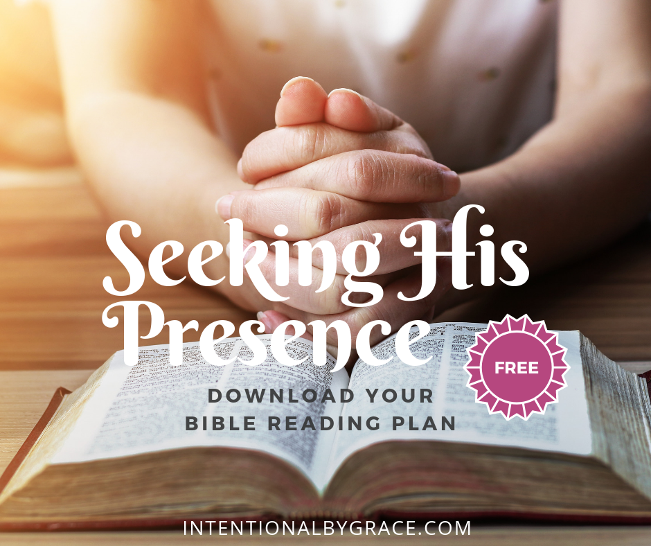 21-Day Seeking His Presence Free Bible Reading Plan