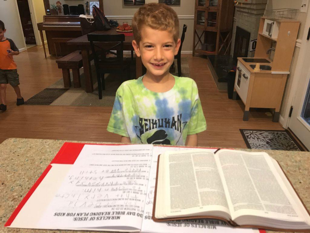 free kids Bible reading plan