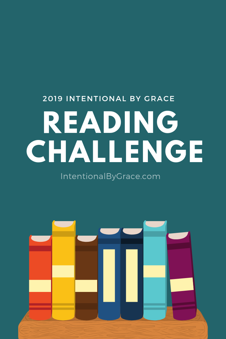Join the Intentional By Grace Reading Challenge 2019!