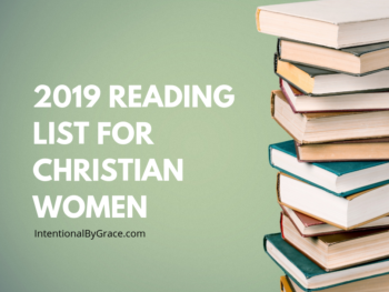 Checkout this list of over 52 books for Christian women! Including a 2019 Reading Challenge for Christian women!