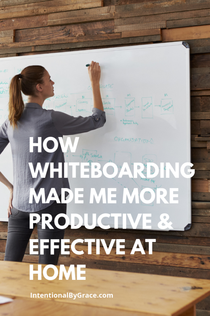 How Whiteboarding Made Me More Productive & Effective at Home - Whiteboarding at Home