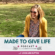 Introducing the Made to Give Life Podcast. The podcast dedicated to helping you get crystal clear on your purpose so you can become the woman of God you were created to be!