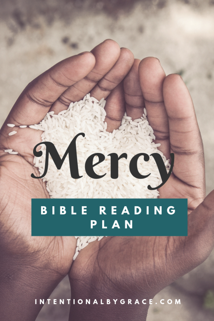 21-Day Bible Reading Plan on Mercy